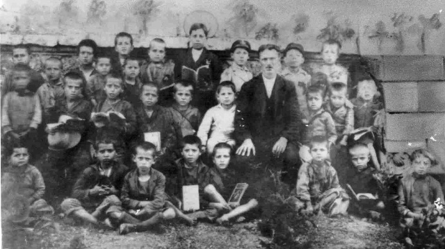 1927 father & uncle in schools.jpg